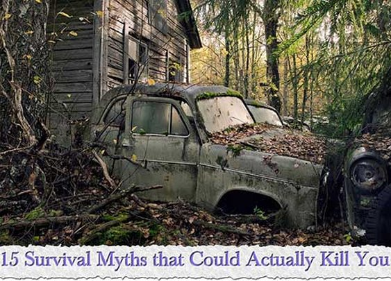 15 Survival Myths that Could Actually Kill You