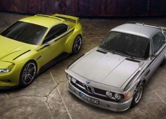 BMW 3.0 CSL Hommage concept car unveiled