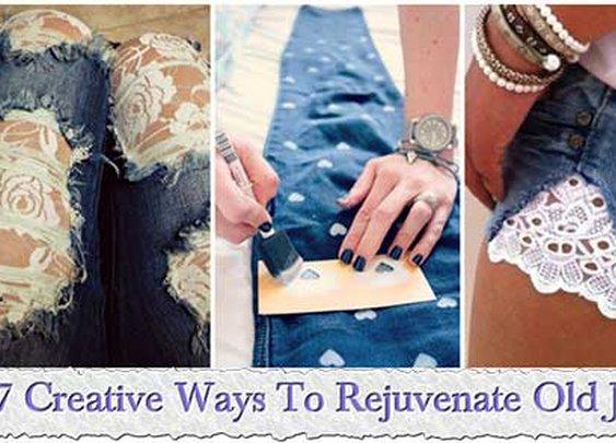 17 Creative Ways To Rejuvenate Old Jeans
