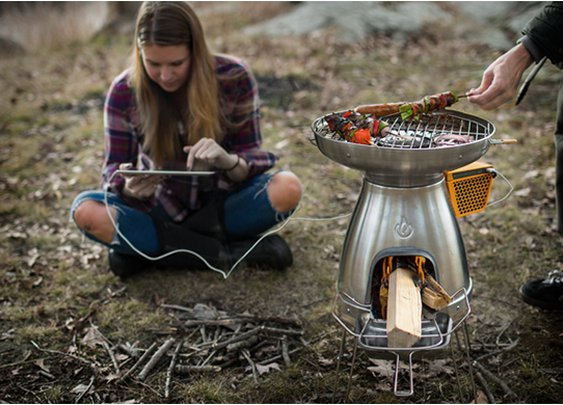 Biolite Basecamp Stove - Cook, charge your devices and more