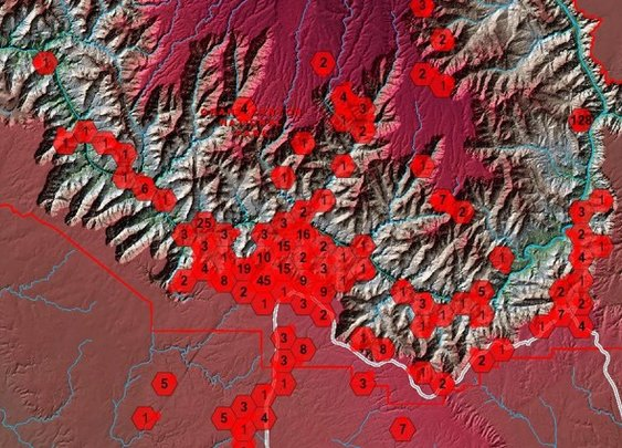 This Grim Map Shows How People Have Died at the Grand Canyon - CityLab