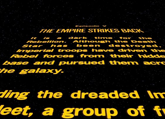 Star Wars Title Crawls - Esquire's Definitive Ranking of the Movie Series' Opening Credits Sequences