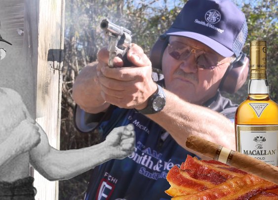 Jerry Miculek- A manly life | A day in the life