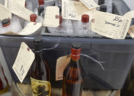 Inside the Great Pappy Van Winkle Heist