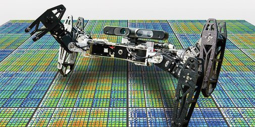 Robot heals itself using trial and error