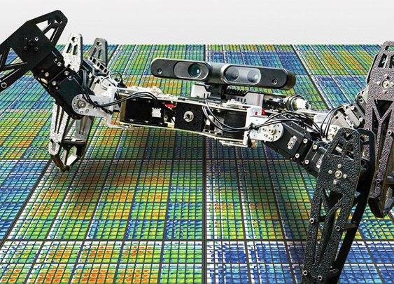 Robot heals itself using trial and error
