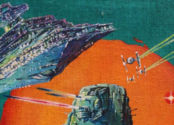 The Original Art Behind Some of the Craziest Star Wars Posters