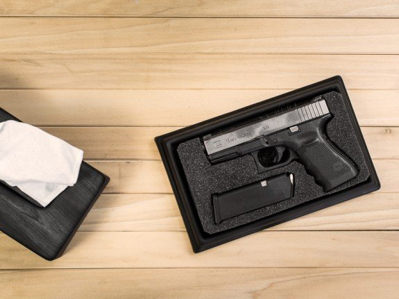 Hidden Gun: Tactical Tissue Box