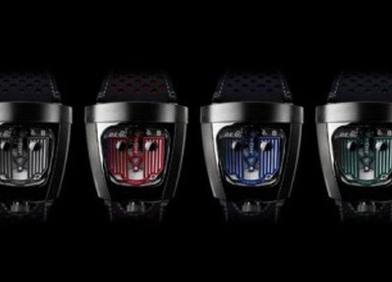 MB&F Celebrates 10 Years With The HMX