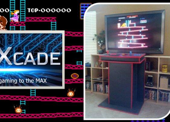MaXcade 7500 Classic Arcade Games, Custom Cool Pedestal Cabinets