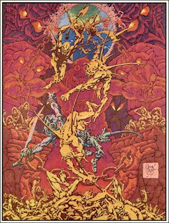 The Golden Age: Alex Nino ~ The Fantasy Worlds Portfolio ~ 1976
