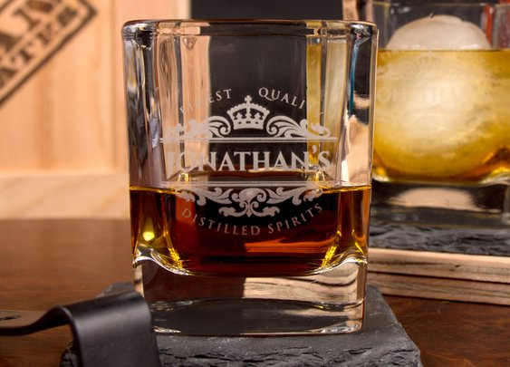 Personalized Whiskey Man Crate   Man Crates