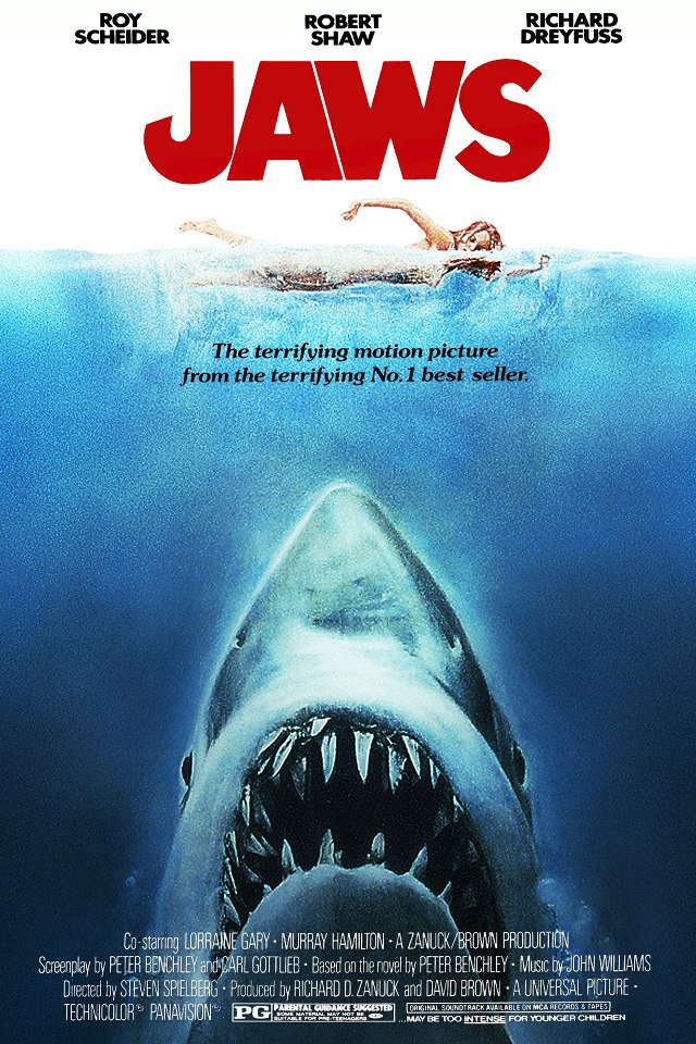 'Jaws' Coming Back To Theaters For 40th Anniversary | Geekologie