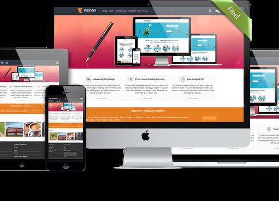 Roma - Free Multipurpose and Responsive WordPress Theme