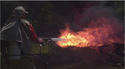 X15 Flame Thrower With JerryMiculek