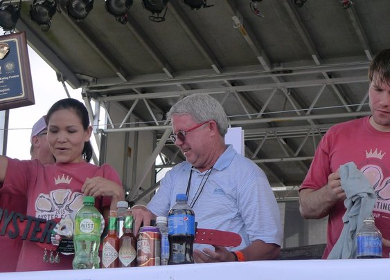The world of competitive oyster eating: 'your stomach is like a human Tetris' | Life and style | The Guardian