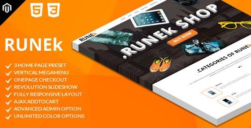 Runek - Multipurpose and Responsive Magento Theme   ThemeForest