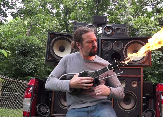 Make a Mad Max Doof Warrior Inspired Flamethrower Ukulele
