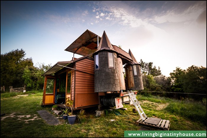 The Transforming Castle Truck - Living Big In A Tiny House | Living Big In A Tiny House