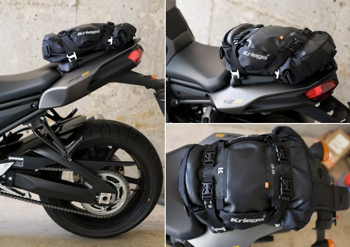Kriega U.S. 20 Tail Bag | Essential Moto | Motorcycle news & reviews