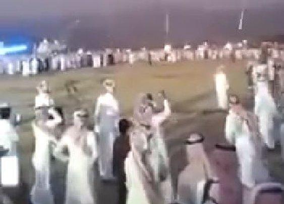 Epic Celebratory AK-47 Shooting Into The Air