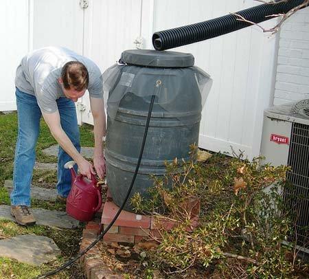 How To Harvest Rainwater DIY
