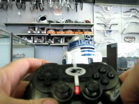 Arduino Ps2 R2D2 - YouTube