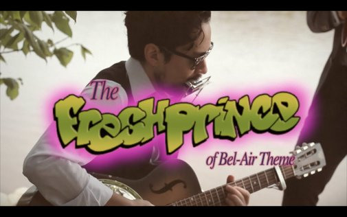 Two Musicians Perform a Spectacular Blues Cover of 'The Fresh Prince of Bel-Air' Theme Song