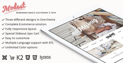 Modest - Multipurpose Joomla Virtuemart Theme | ThemeForest