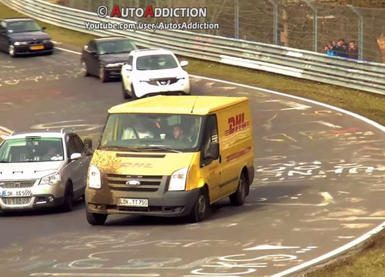 Someone Made a Compilation of the Strangest Vehicles at the Nurburgring and It's Amazing «TwistedSifter