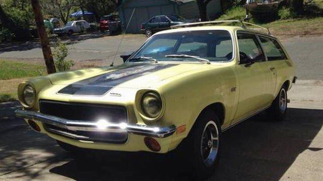 For $5,900, This 1973 Chevy Vega GT Says Wagons Ho!   Jalopnik.com