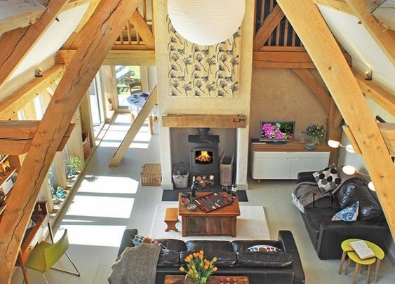 646 Sq. Ft. Carpenter Oak Cottage