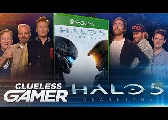 """Clueless Gamer: """"Halo 5: Guardians"""": Team Silicon Valley vs. Team Coco"""