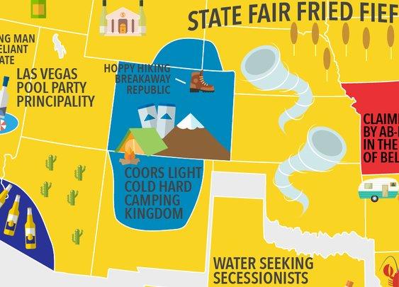 MAP: VinePair's Wet Drunk American Summer | VinePair