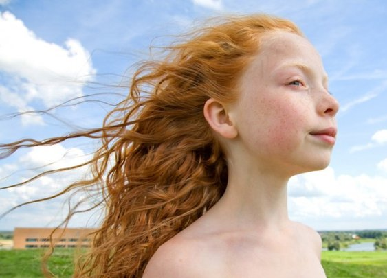 Portraits of Redheads by Hanne van der Woude