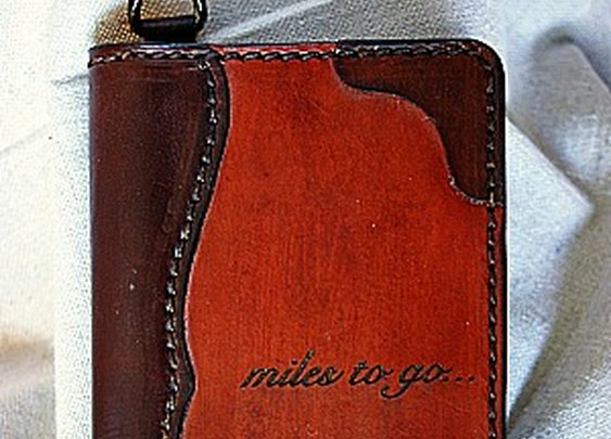 Genuine Leather Field Notes Cover - Vvego