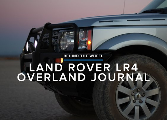 Review: 2013 Land Rover LR4 Overland Journal Edition | Gear Patrol
