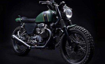 Bespoke Moto Guzzi V7 by Venier Customs