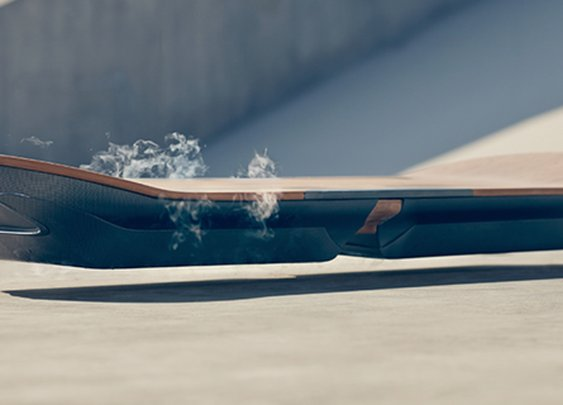 Lexus reveals real-life hoverboard powered by magnets and superconductors