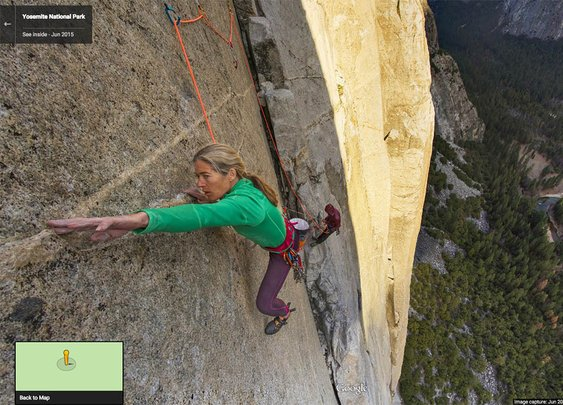 Climb 'El Capitan' with Google's first vertical Street View