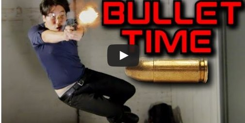 Bullet Time Won't Make You Shoot Like ABoss