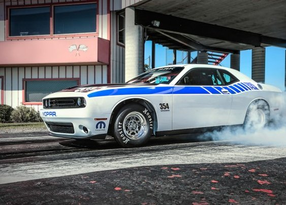 Supercharged 354 Hemi Debuts