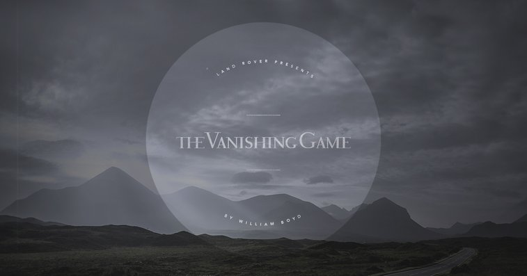 The Vanishing Game by William Boyd | Land Rover USA