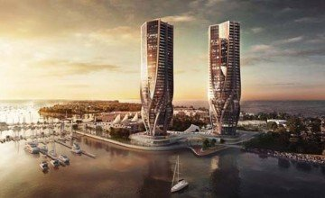 Zaha Hadid Designs Two Towers for Australia's Gold Coast