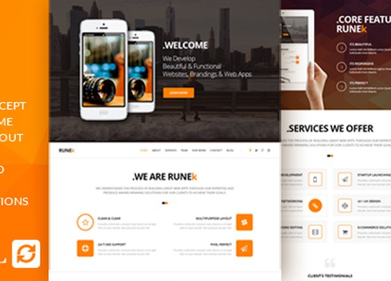 Runek - Material Design WordPress Theme | ThemeForest