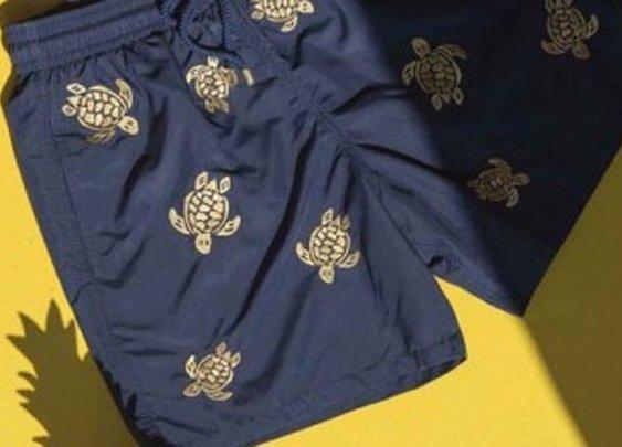 Vilebrequin Unveils Golden Turtle Swim Trunks