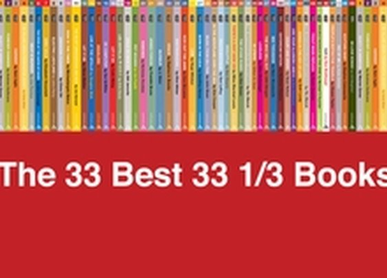 The 33 Best 33 1/3 Books | Pitchfork