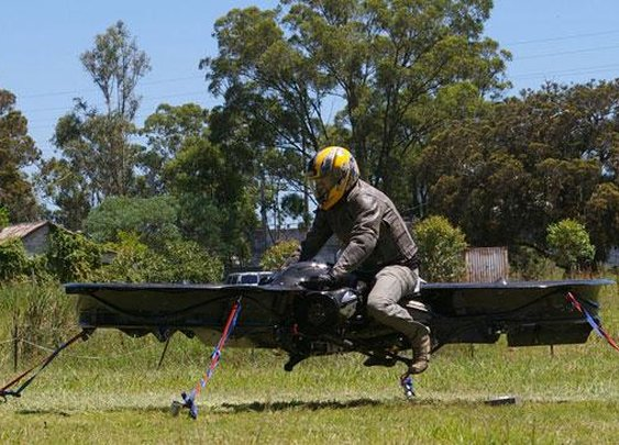 US military teams up with British company to create hoverbike technology - BT