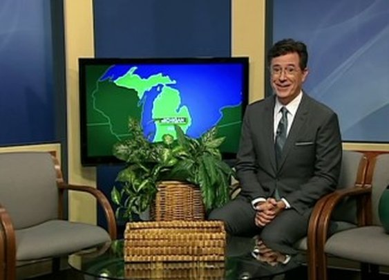 Stephen Colbert Hosted a 40-Minute Public Access Show in Monroe, Michigan - Splitsider