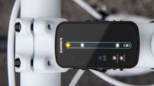 Garmin's Varia Radar warns cyclists of traffic approaching from the rear
